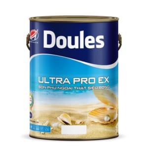 Sơn phủ ngoại thất Nano siêu bóng Doules Ultra Pro EX