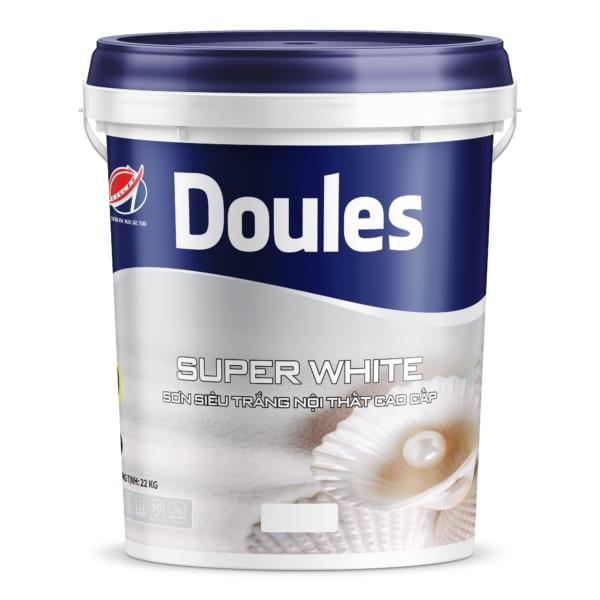 Sơn Doules Super White siêu trắng nội thất