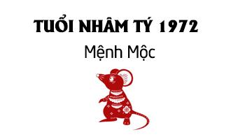 nhâm tý 1972